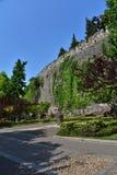 Ming Dynasty City Wall en la primavera imagenes de archivo