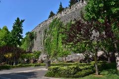 Ming Dynasty City Wall en la primavera Fotografía de archivo libre de regalías