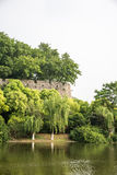 Ming Dynasty City Wall Stock Photo