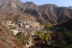 Ming Dynasty-Dorf von Cuandixia stockfoto