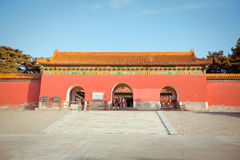Ming Dynasty Tombs in Beijing, China Stock Image