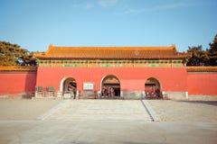Ming Dynasty Tombs i Peking, Kina Fotografering för Bildbyråer