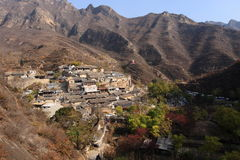 Ming Dynasty village of Cuandixia Stock Photo
