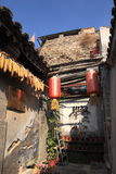Ming Dynasty village of Cuandixia. Cuandixia village was originally built in the Ming Dynasty with a history of nearly 500 years. The village is 90 km west of royalty free stock photos