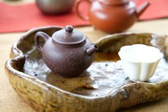 Ming Dynasty Yixing Clay Teapot fotografia stock