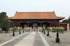 The Ming Grave of the Emporer Yongle Stock Photo