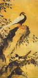 Ming Lin Liang Bird painting Stock Image