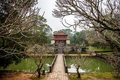 Ming Mang Emperor Tomb en tonalidad, Vietnam foto de archivo libre de regalías