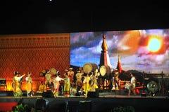 Ming Mongkol Drum Festival royalty-vrije stock foto's