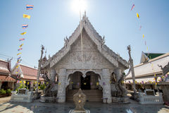 Ming Muang świątyni centrum miasta filar, Biały kościół Obrazy Royalty Free
