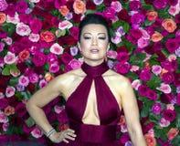 Ming-Na Wen chez Tony Awards 2018 Photographie stock