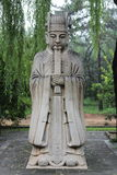 Ming statue Royalty Free Stock Image