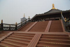 Ming Temple Exterior Stockfoto
