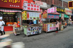 Ming Temple Exterior Lizenzfreies Stockbild