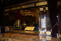 Ming Temple Interior Royalty Free Stock Photos