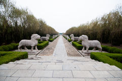 Ming tombs Stock Photos