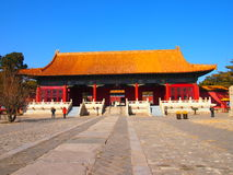 Ming Tombs at Changling Royalty Free Stock Photography