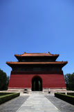 Ming Tombs temple Royalty Free Stock Photos