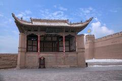 Ming wielkiego muru Jiayuguan miasta teatr Zdjęcie Royalty Free