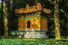 Ming Xiaoling Gräber in Nanjing China stockbild
