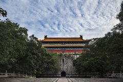 Ming Xiaoling Mausoleum in Nanjing City Party House Stock Photo