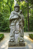 Ming Xiaoling Tomb in Nanjing China Stock Photo