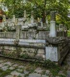 Ming Xiaoling Tombs in Nanjing China Stock Photos