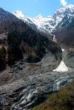 Ming-Yong Glacier, montagna della neve di Mei-Li Fotografie Stock