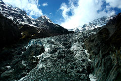 Ming-Yong Glacier, montagna della neve di Mei-Li Immagine Stock Libera da Diritti