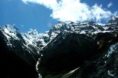 Ming-Yong Glacier, montagna della neve di Mei-Li Fotografia Stock