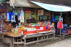 Mingalar Market, Nyaungshwe, Myanmar Royalty Free Stock Images