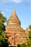 Mingalazedi塔在Bagan,缅甸 库存照片
