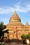Mingalazedi塔在Bagan,缅甸 免版税图库摄影