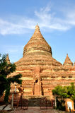 Mingalazedi pagod i Bagan, Myanmar Royaltyfri Fotografi