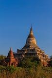 Mingalazedi-Pagode, Bagan auf Myanmar (Burmar) Lizenzfreies Stockbild