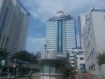 Minghua konwenci Międzynarodowy Centre w Shenzhen sheKou zdjęcie royalty free