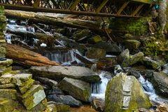 Mingo Falls stock photos