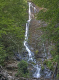 Mingo Falls, Great Smoky Mountains National Park stock photos