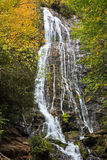 Mingo Falls nära Cherokee, North Carolina royaltyfria bilder