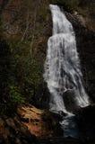 Mingo Falls in primavera Fotografia Stock Libera da Diritti