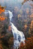 Mingo Falls, Cherokee, North Carolina royalty free stock photography