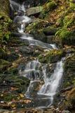 Mingo Falls Waterfall Royalty-vrije Stock Afbeeldingen