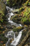 Mingo Falls Waterfall Royalty-vrije Stock Foto