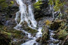 Mingo Falls Waterfall stock photos