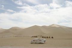 Mingsha Shan in Dunhuang stock foto