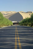 Mingsha Shan in Dunhuang Stock Images
