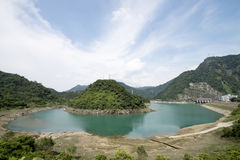 Mingtan Dam Royalty Free Stock Photography