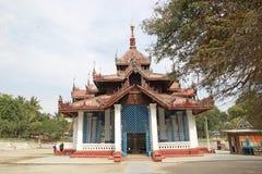 Mingun响铃缅甸 免版税库存照片