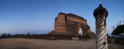 Mingun. Panorama of thef Mingun Paya Stock Photos