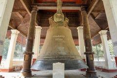 Mingun Bell, regione di Sagaing, Myanmar fotografia stock